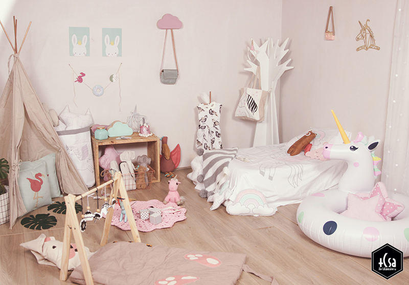 The Collaborative The Unicorn Room Little Interiors